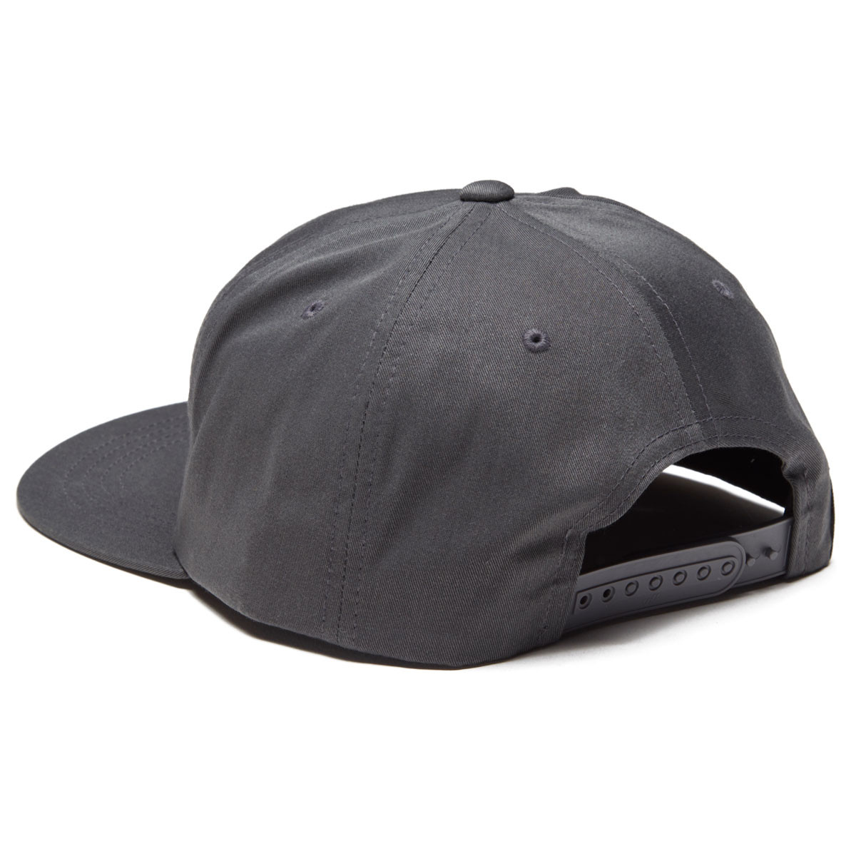low priced e64ad 933bc Salty Crew White Wash 5 Panel Hat - Charcoal