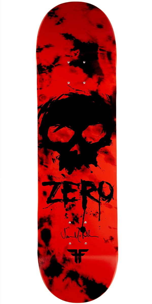 Zero Fallen Blood Skull R7 Thomas Skateboard Deck - 8.375""