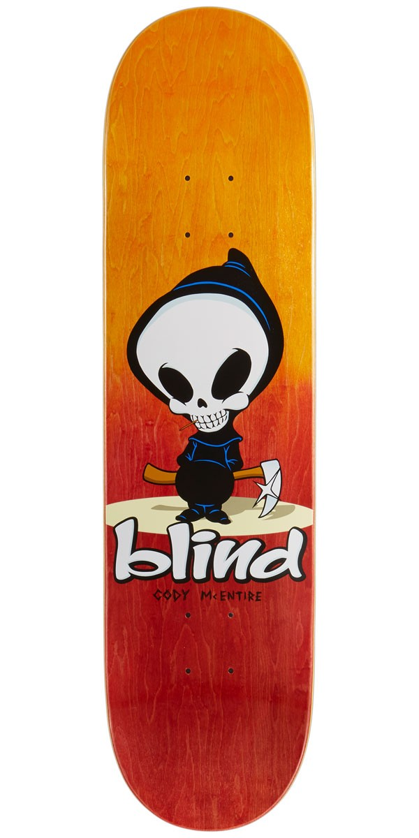 Blind Mid Reaper R7 Skateboard Deck Cody Mcentire 8 00 Quot