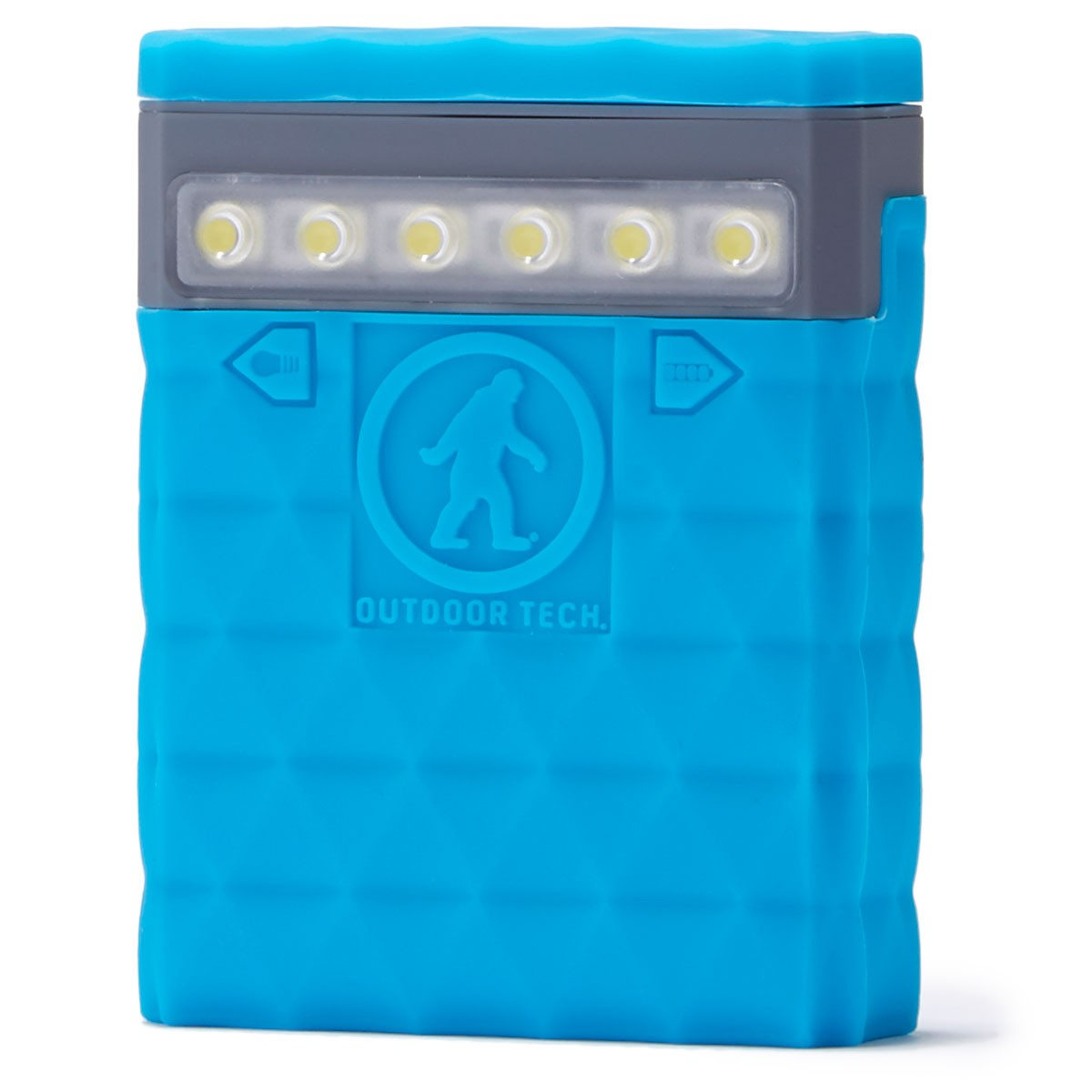 Outdoor Tech Kodiak 2.0 - Rugged 6000 Mah Powerbank Travel Accessory - Electric Blue
