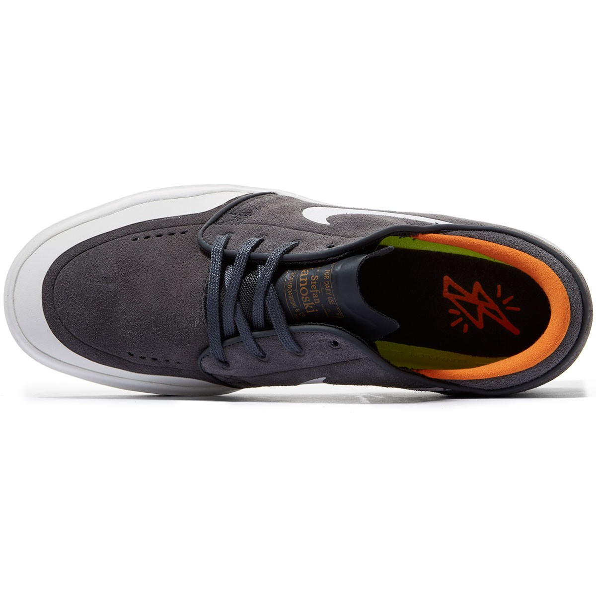 promo code 85e1b fb53f Nike SB Stefan Janoski Hyperfeel XT Shoes - Anthracite White Summit White  Clay Orange