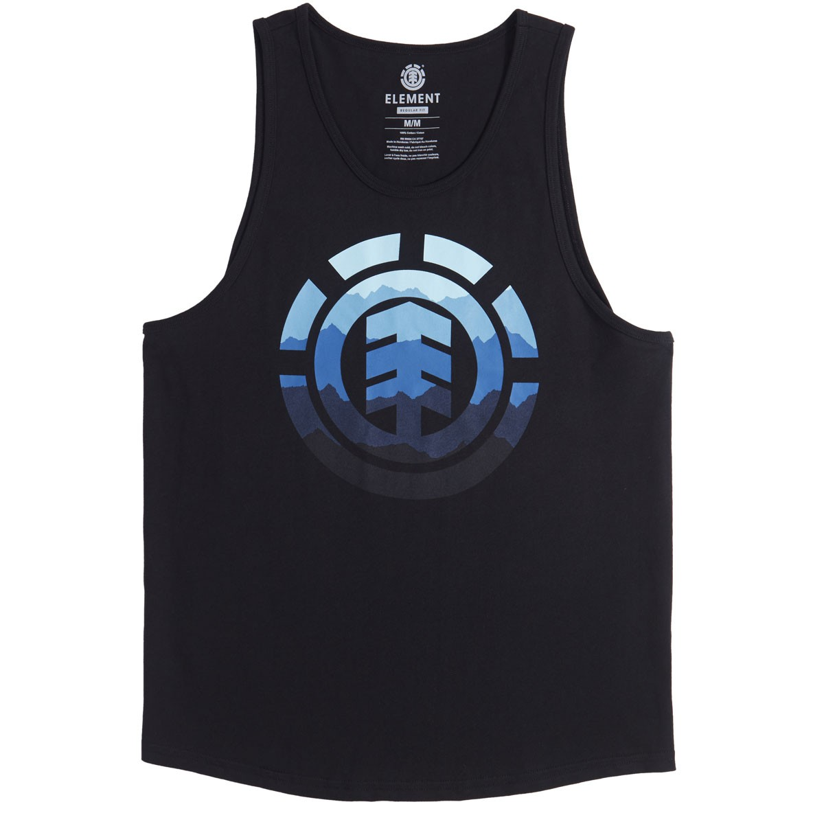 Element HUES TANK - Top - flint black aPzdc