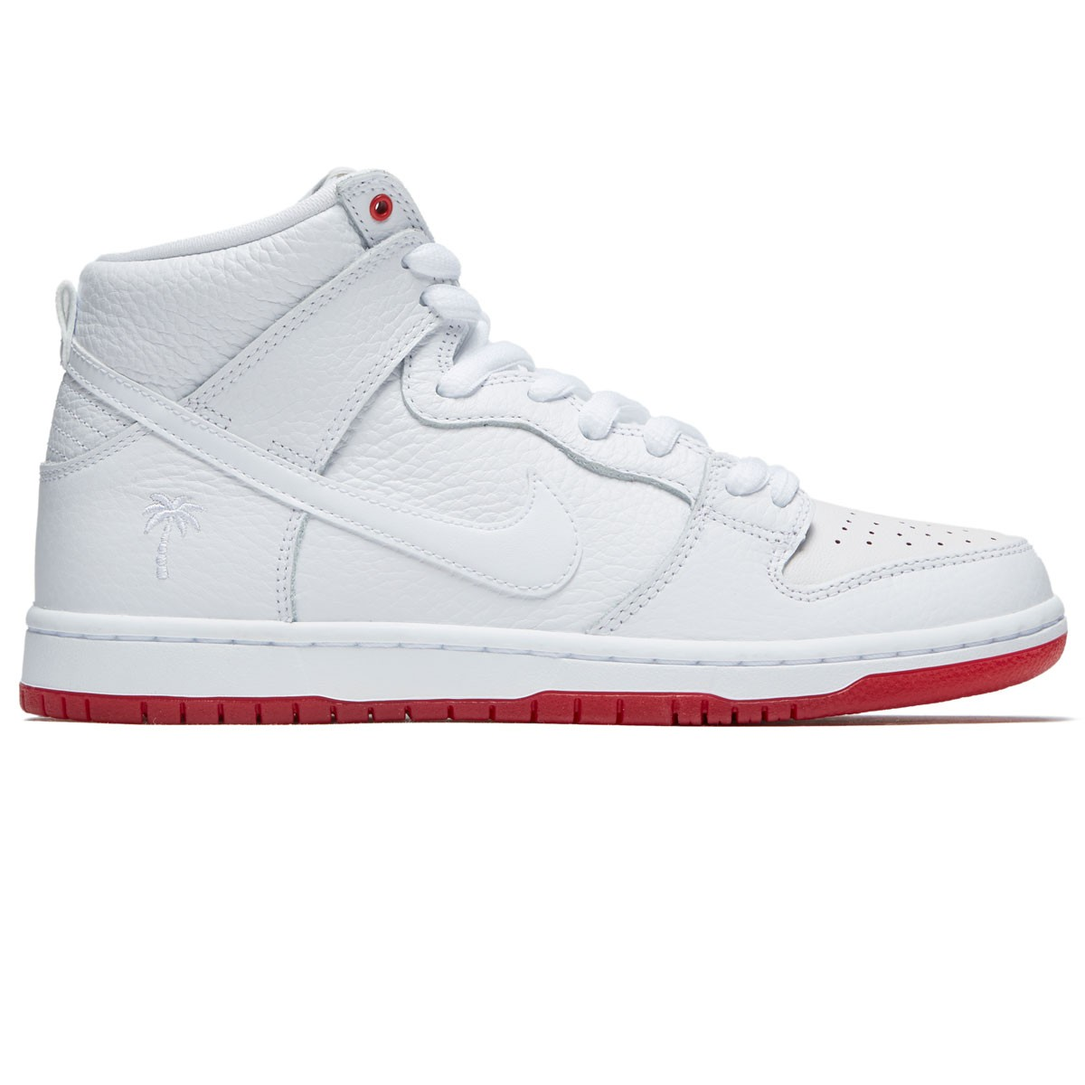 Nike SB Kevin Bradley Zoom Dunk High Pro QS Shoes - White White Red 1e853648c