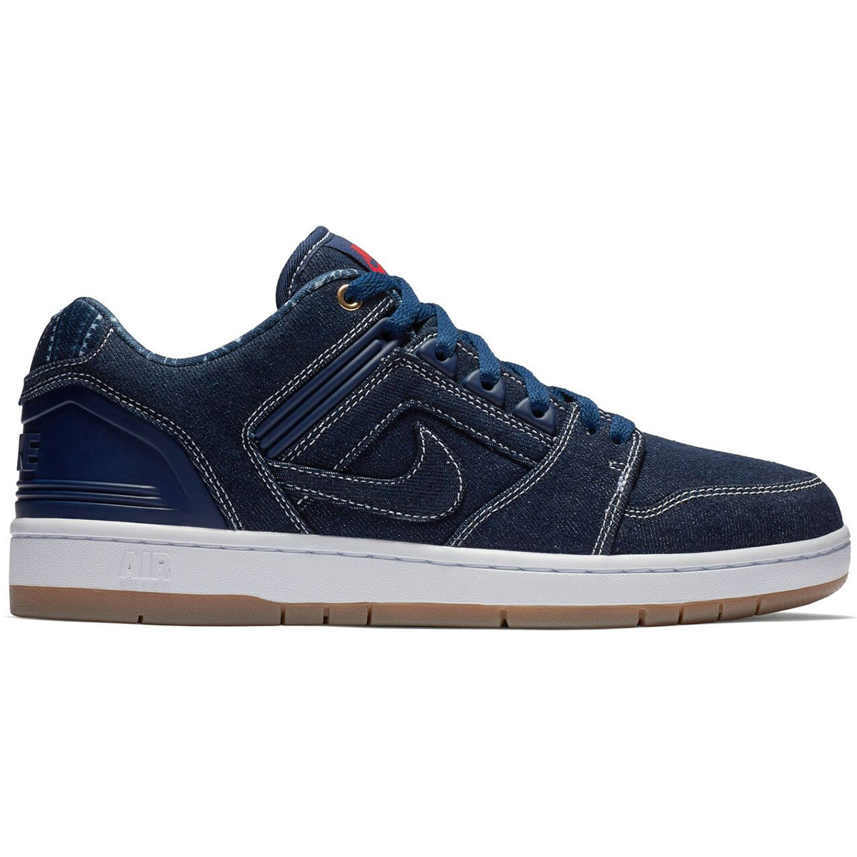 ef010acde2b18 Nike SB Air Force II Low Rivals Shoes - Binary Blue White - 14.0