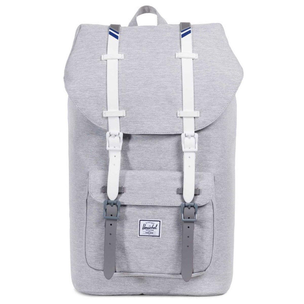 b348f0b60ff5 Herschel Little America Backpack - Light Grey Crosshatch White ...