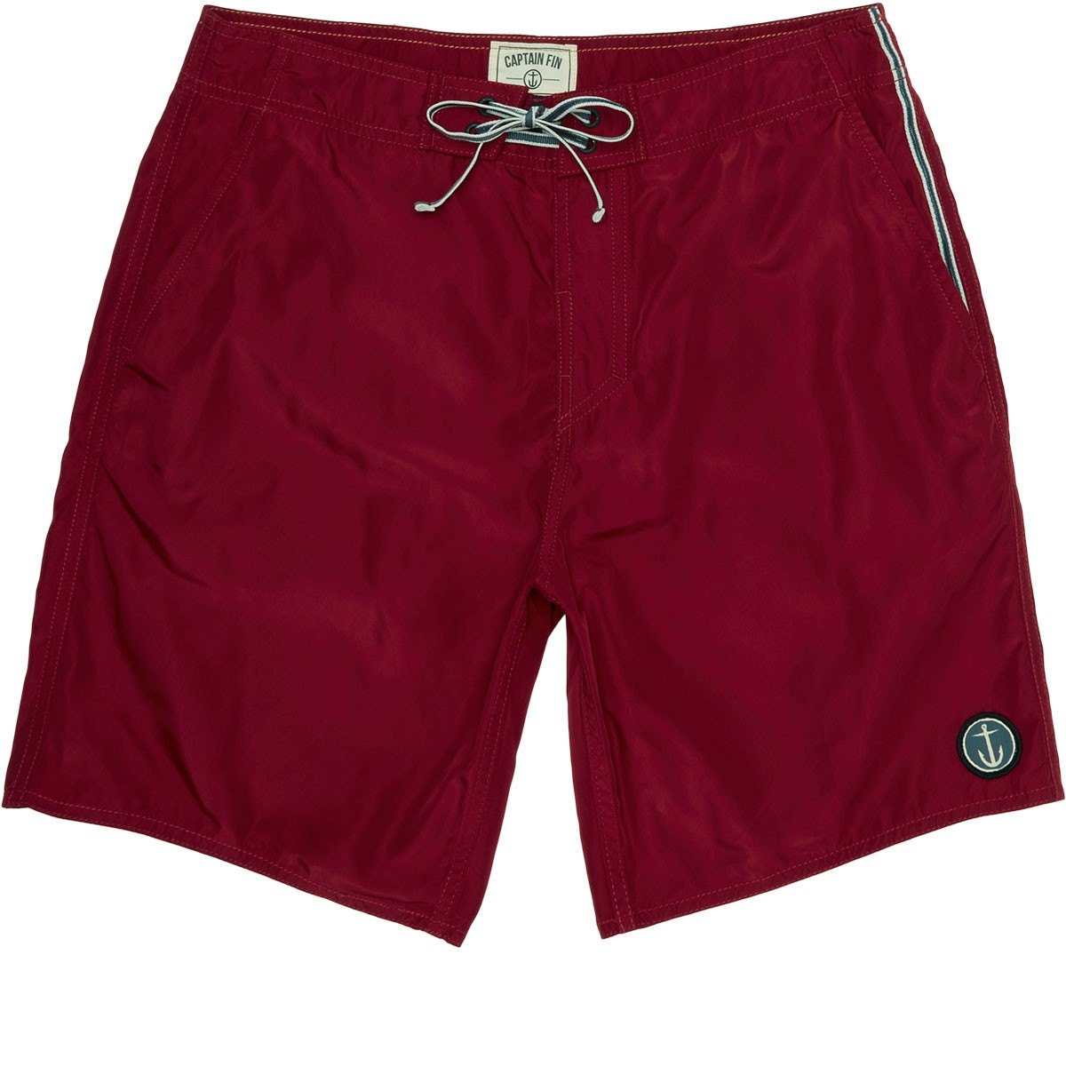 Boardshorts Pocketeer Captain Breed Burgundy Fin Half 8n0kOwP