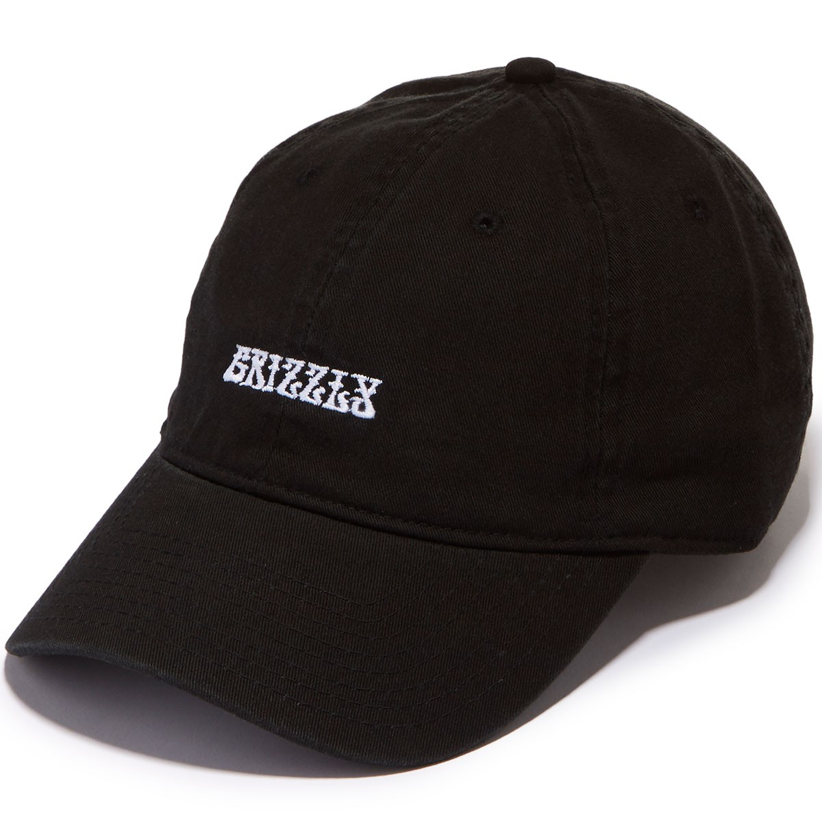 Grizzly X Jimi Hendrix Grizzly Hendrix Dad Hat - Black