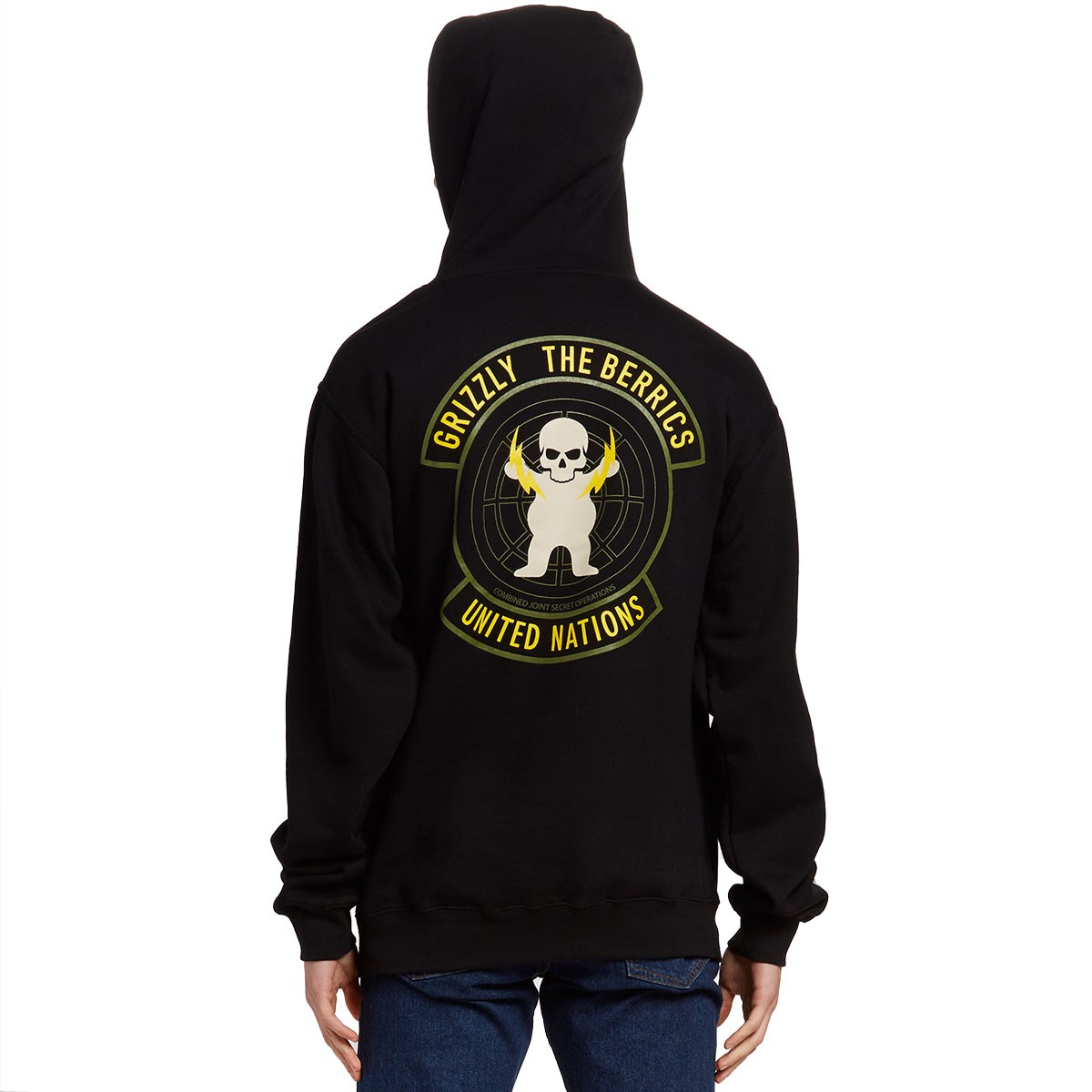 Black Sabbath Christmas Sweater.Grizzly Special Forces Hoodie Black