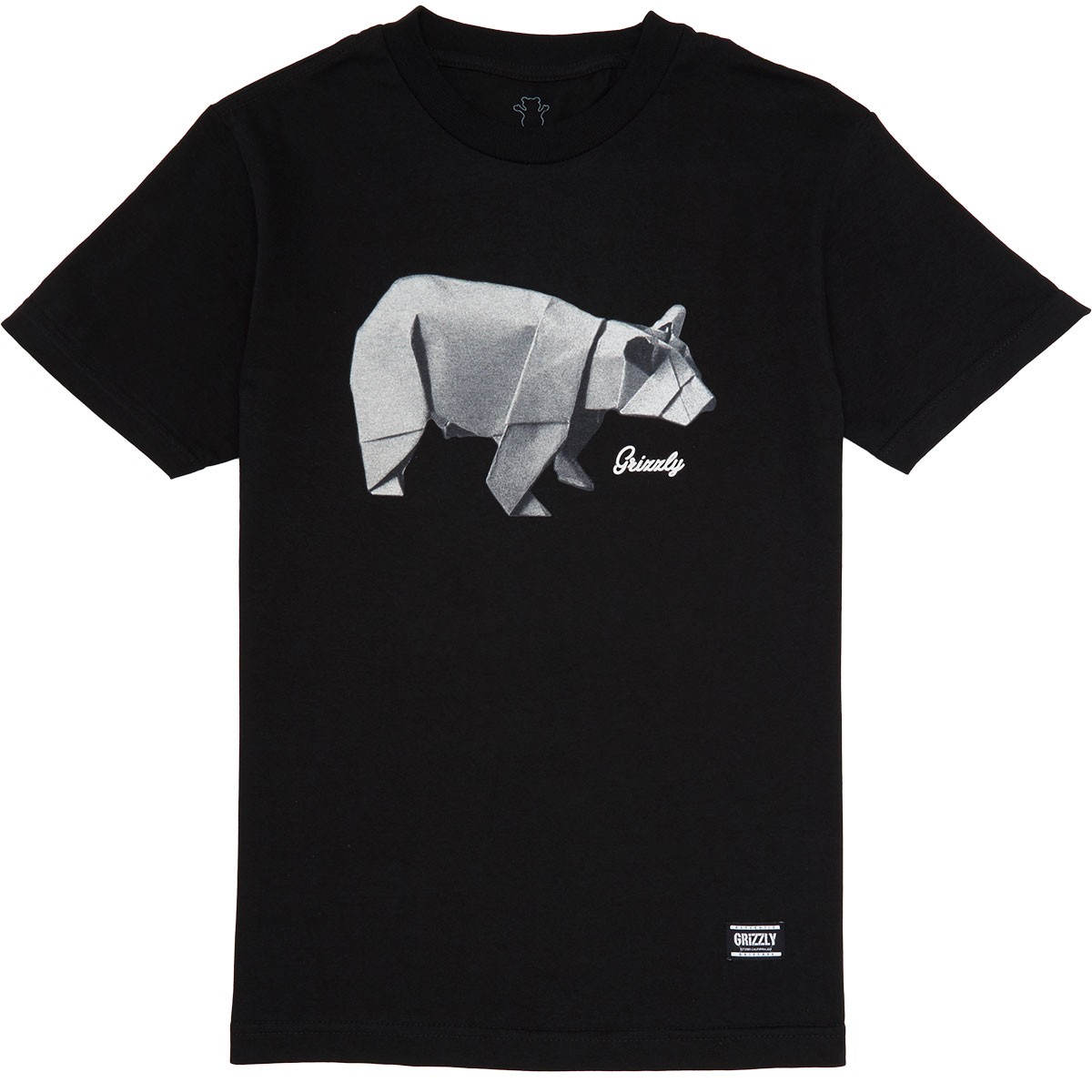 Origami t shirt black grizzly origami t shirt black jeuxipadfo Gallery