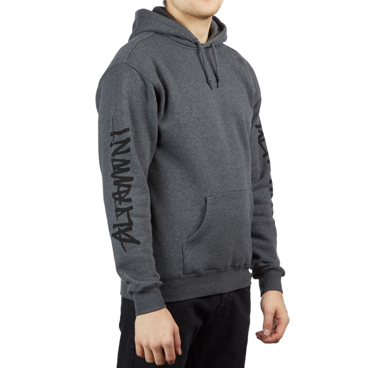 Altamont One Liner Hoodie Charcoal