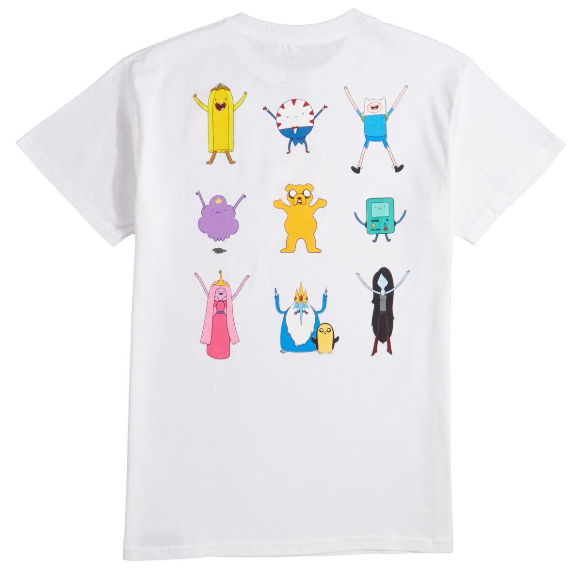 Grizzly X Adventure Time Like Your Brain And Stuff T Shirt White