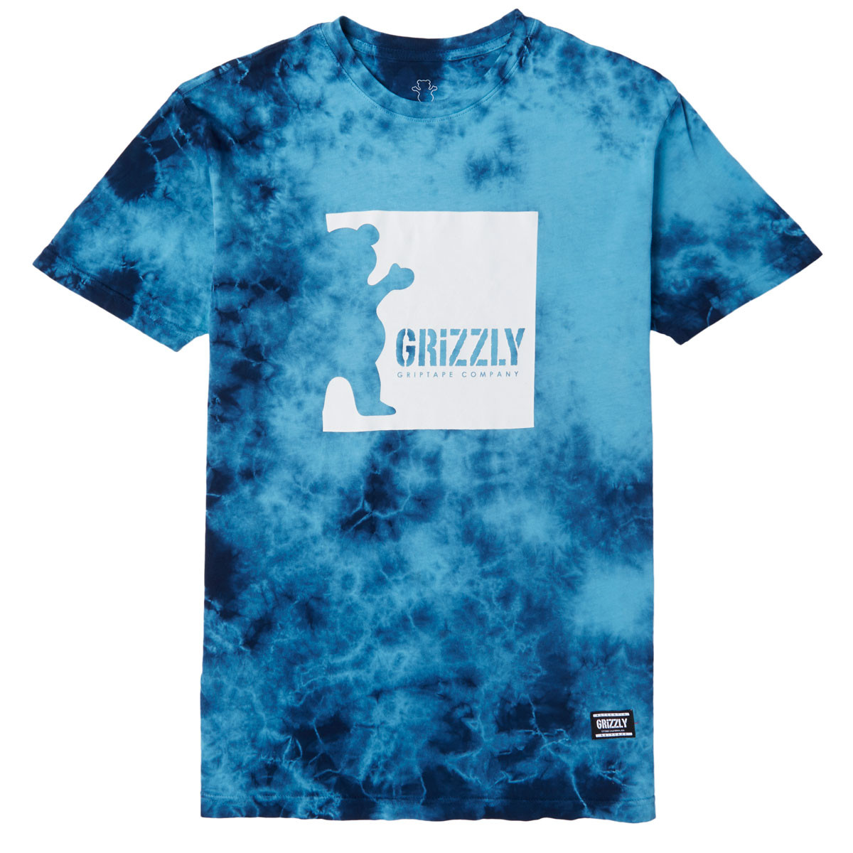 ade67fcc6 Grizzly Deep Water T-Shirt - Tie Dye