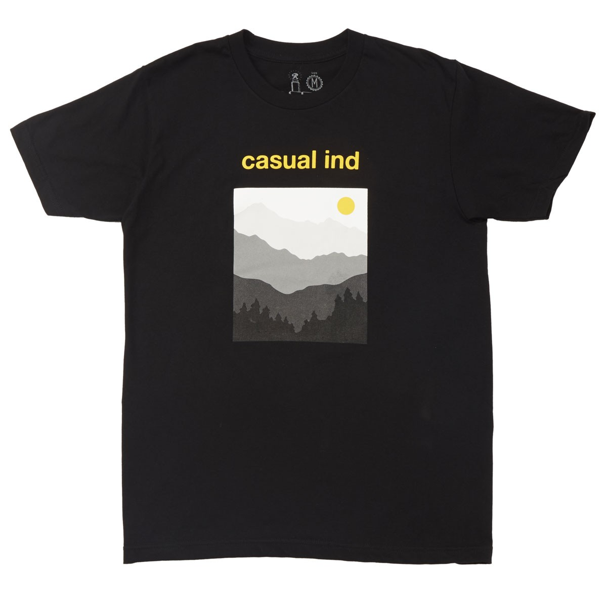 Casual Industrees The Cascades T-Shirt - Black