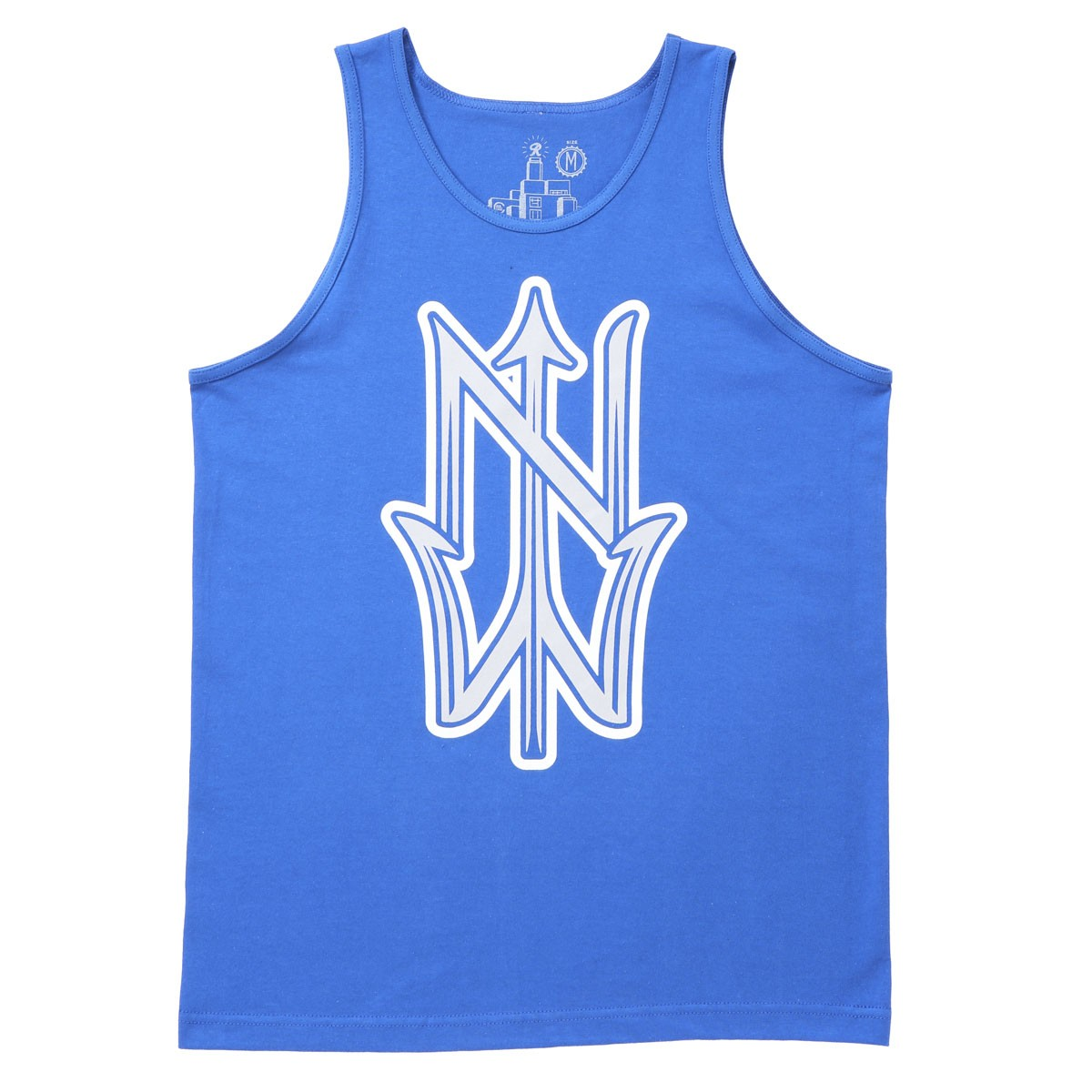 Casual Industrees NW Trident Tank Top - Royal Blue