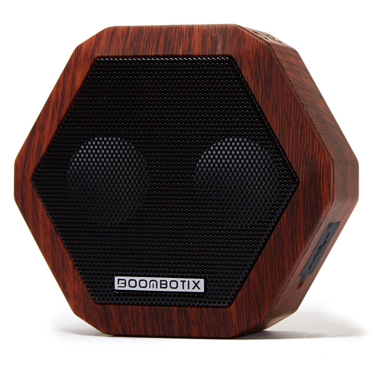 Boombotix BoomBot Rex Travel Accessory - Woodgrain-Cherry