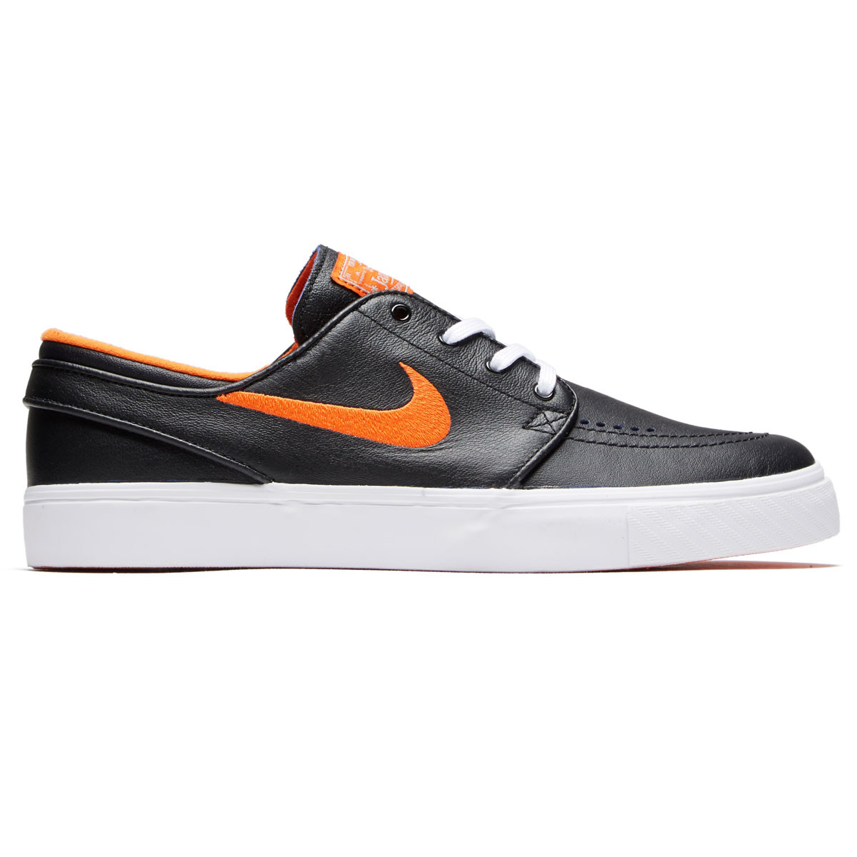 dbb987fb3acf2d Nike SB x NBA Zoom Janoski Shoes - Black Brilliant Ornge Rush Blue -