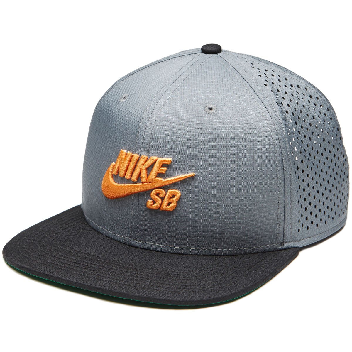 Nike SB Aero Pro Hat - Cool Grey/Black/Circuit Orange
