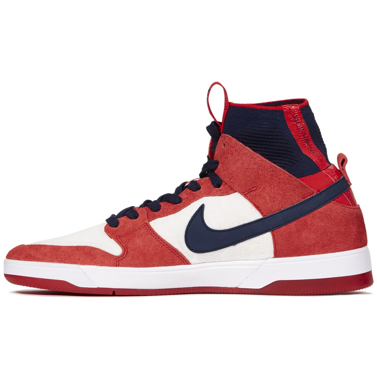 04880e57a9d0 ... norway nike sb zoom dunk high elite shoes university red college navy  white 9d095 f58f6