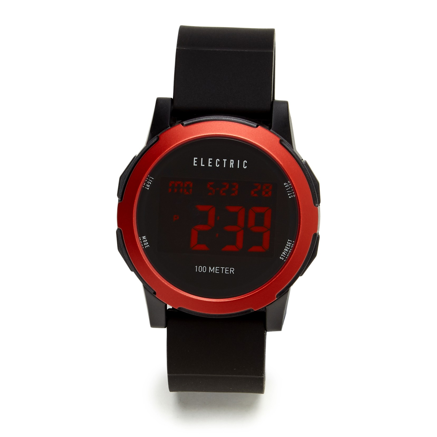 Electric Prime Watch - All Black/Red