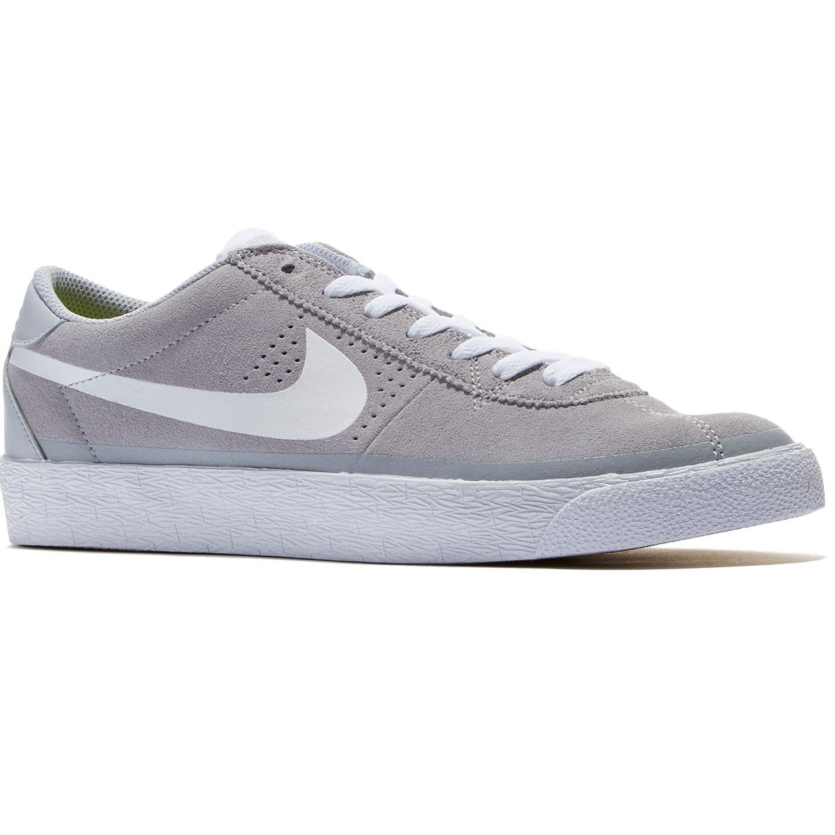Nike Bruin SB Premium SE Shoes - Wolf Grey/Gum/Light Brown/White - 8.0