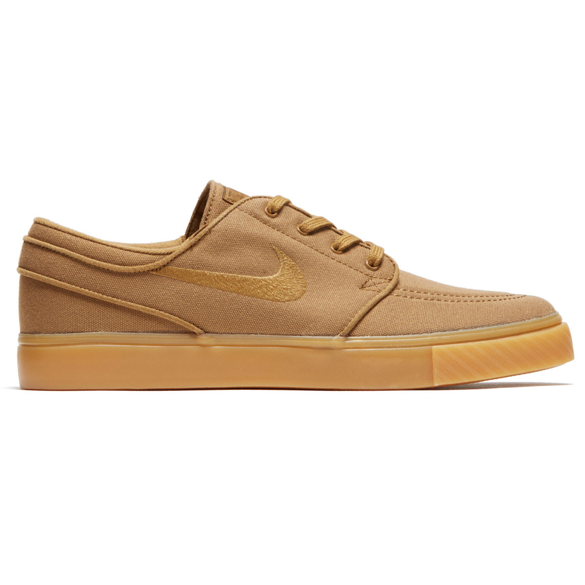 5d5a444d Nike Zoom Stefan Janoski Shoes - Golden Beige/Golden Beige/Gum Yellow