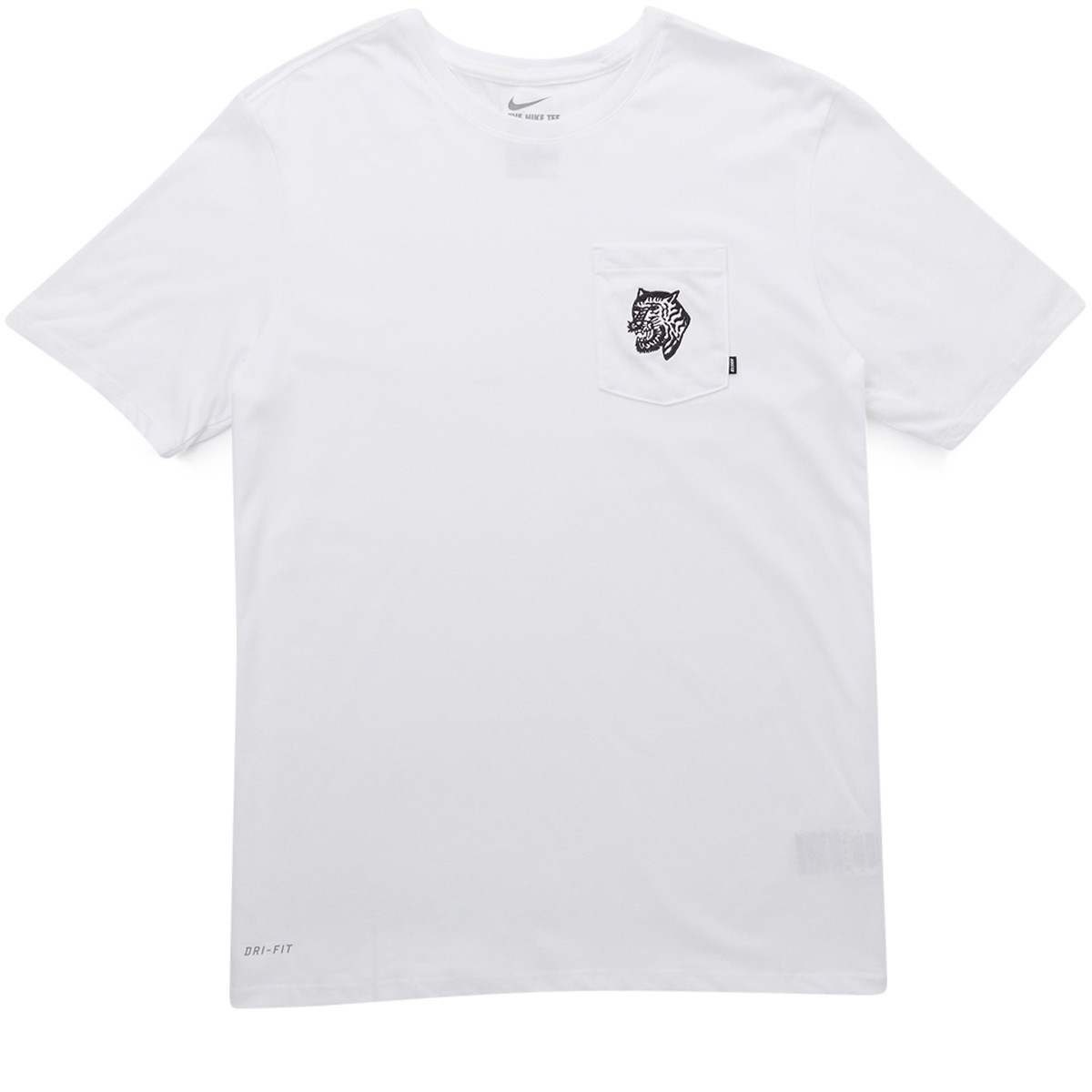 cf16cfc4 Nike SB Tiger Pocket T-Shirt - White/White/Black