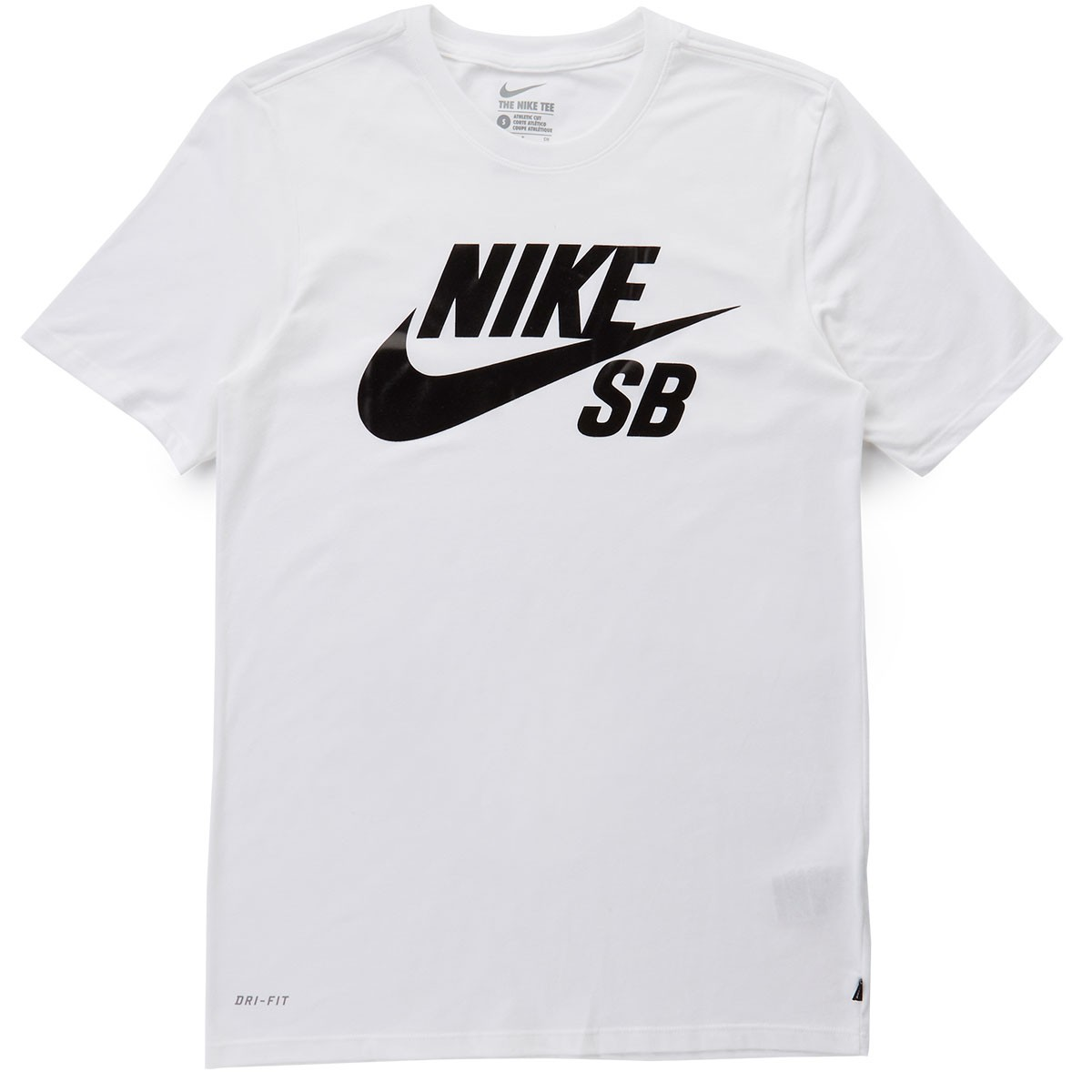 nike sb logo t shirt white white black. Black Bedroom Furniture Sets. Home Design Ideas