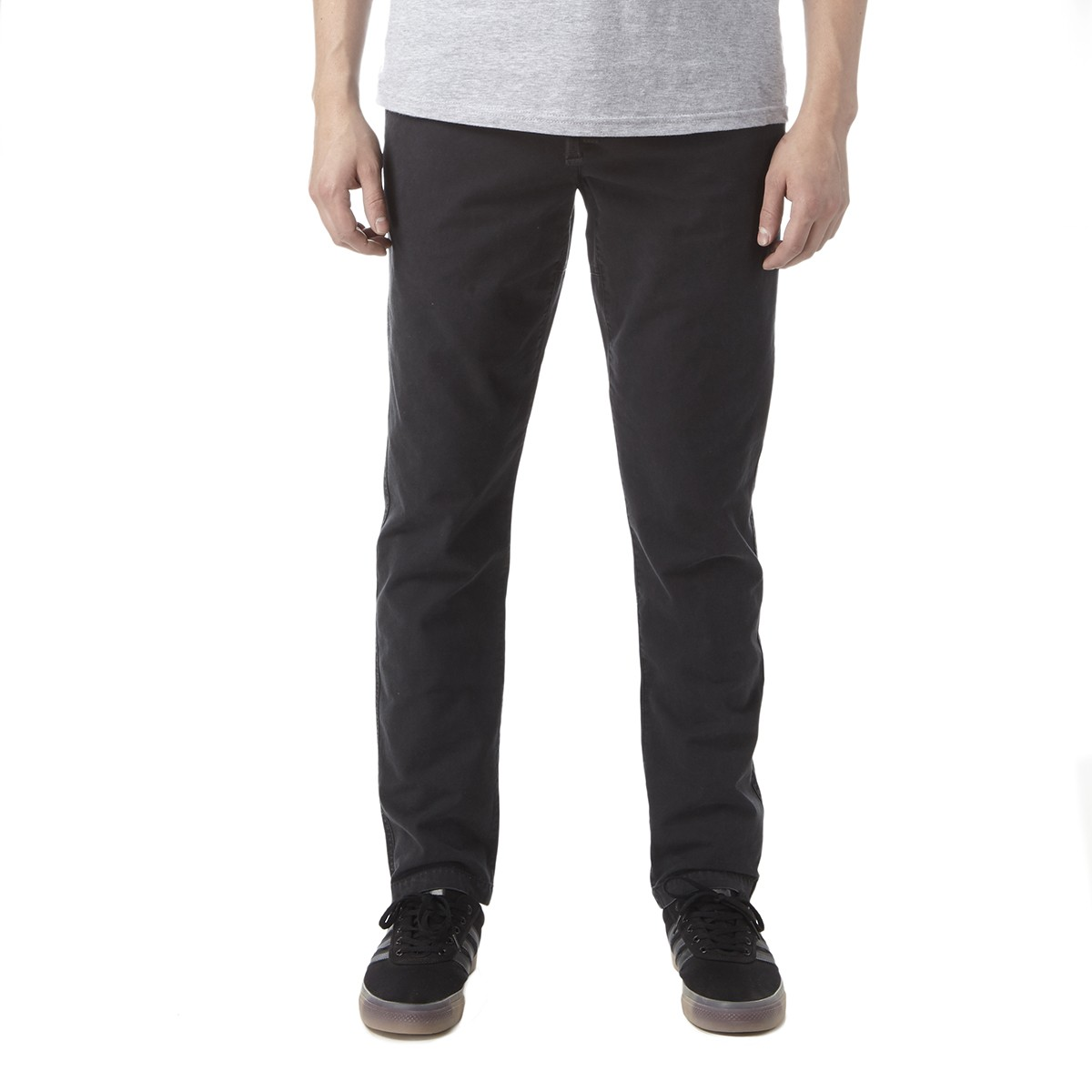 Obey Traveler Slub Twill Pants - Black