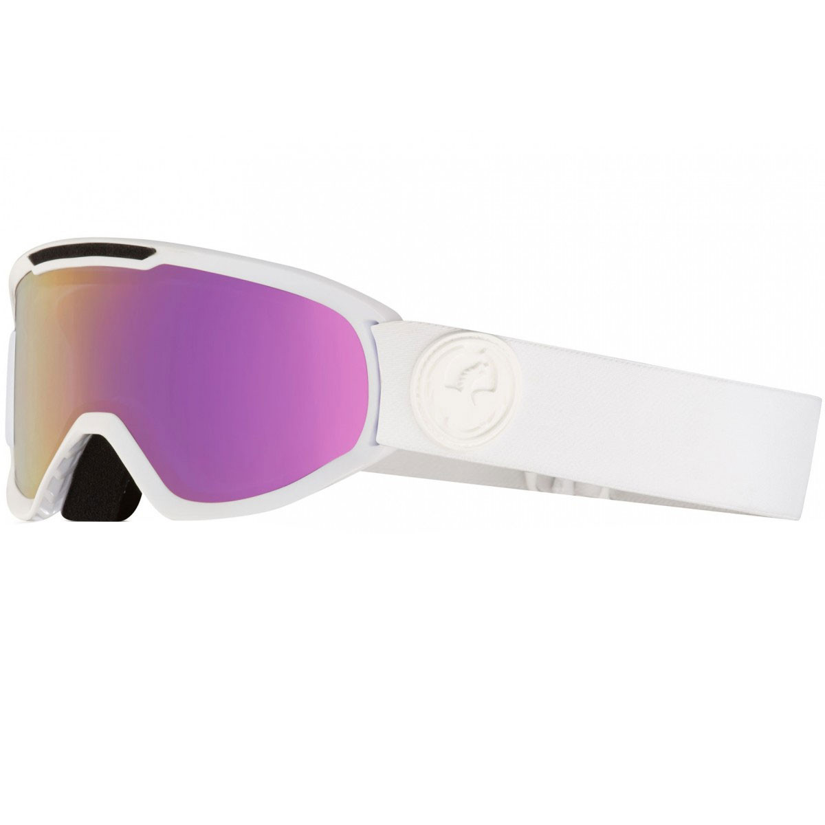 5d0c56afd882 Dragon DX2 Snowboard Goggles - Whiteout Lumalens Pink Ion