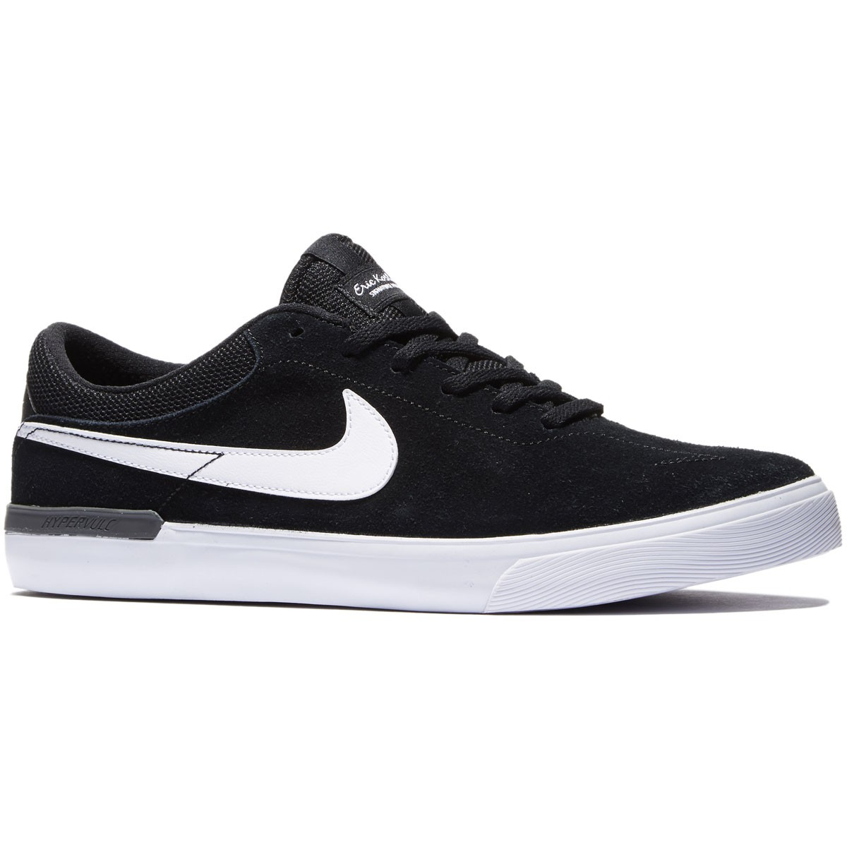 info for 18ed5 18abc Nike SB Koston Hypervulc Shoes - Black Dark Grey White - 8.0