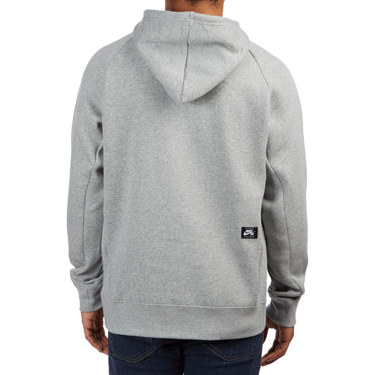 Clothing Nike SB Icon Half Zip Hoodie dark grey heather