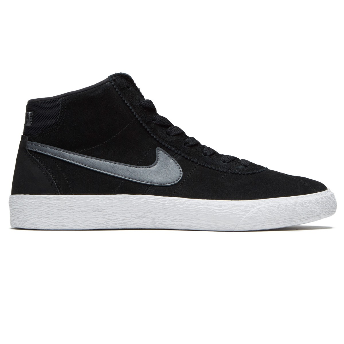 Nike SB Bruin Hi Women s Shoes - Black Dark Grey White e94c01472e