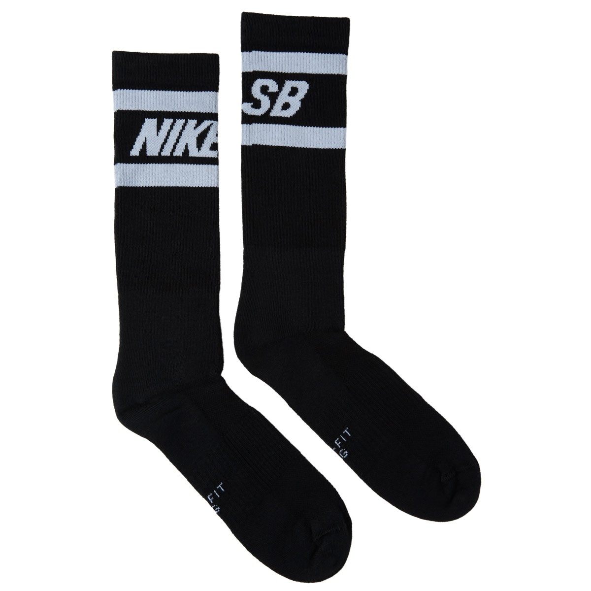 045b4db2ea874a Nike SB Graphic Crew 2 Socks - Black White