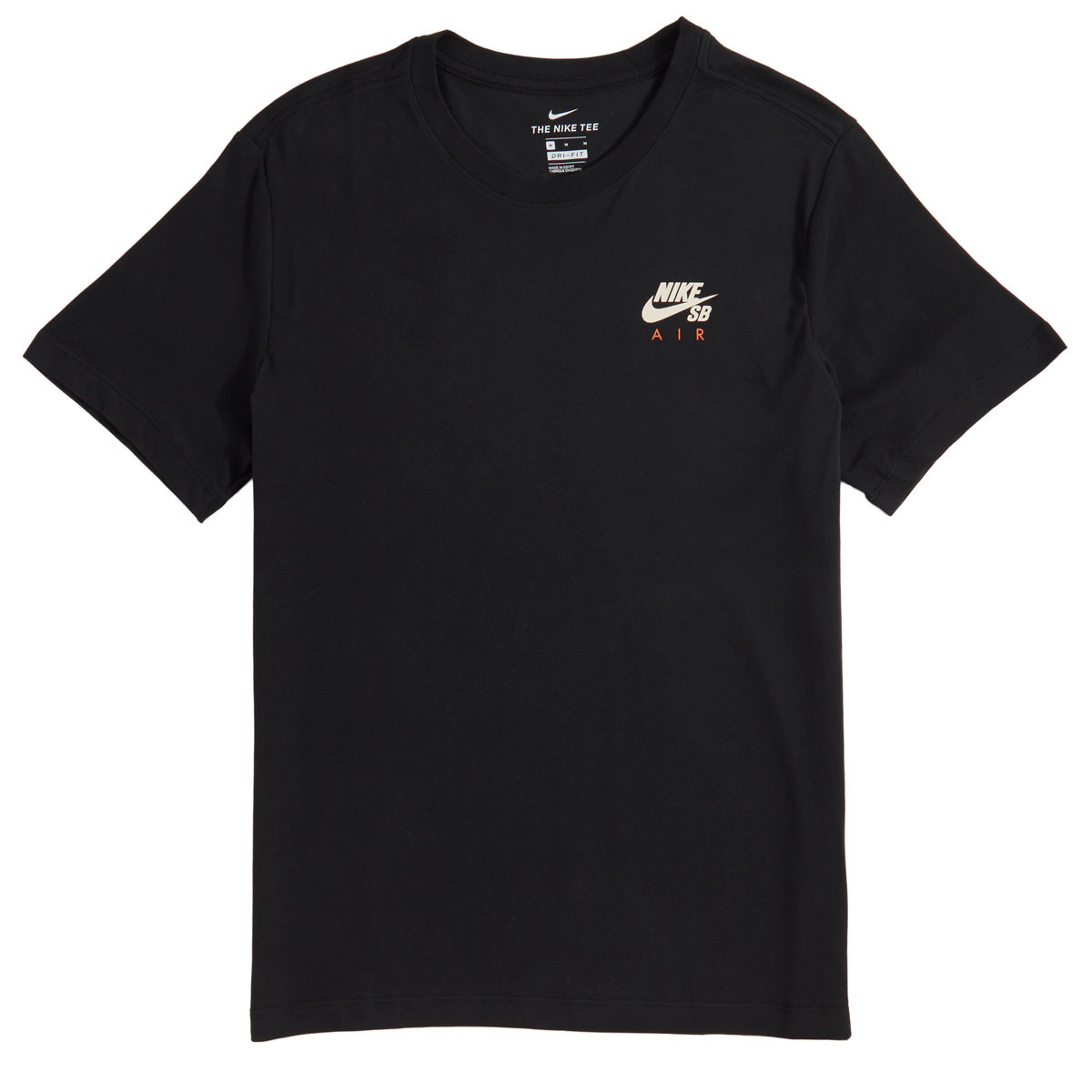 84962618 Nike SB Dri-fit Air T-Shirt - Black/Light Cream