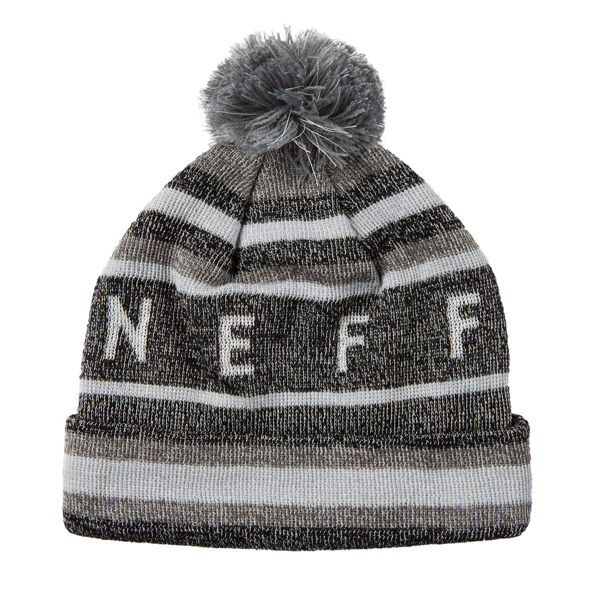 6b841ff7007 Neff Nightly Tailgate Beanie - Black Grey Glow