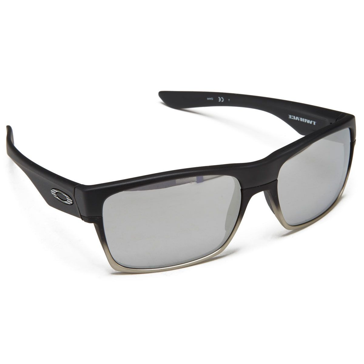 88f46b952b4 Oakley Two Face Sunglasses - Machinist Matte Black Chrome Iridium