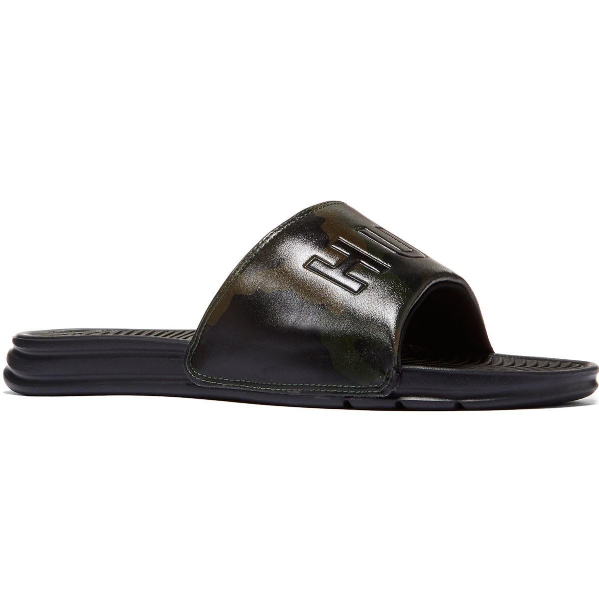 HUF Slide Shoes - Muted Camo - 8.0