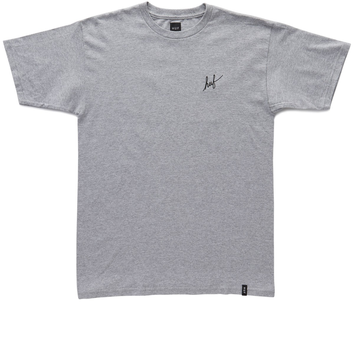 HUF Muted Military Classic H T-Shirt - Grey Heather