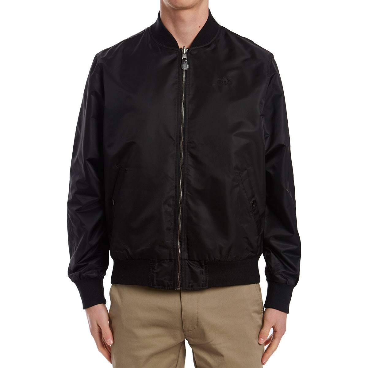 latest undefeated x the sale of shoes Huf Shots Bomber Jacket - Black