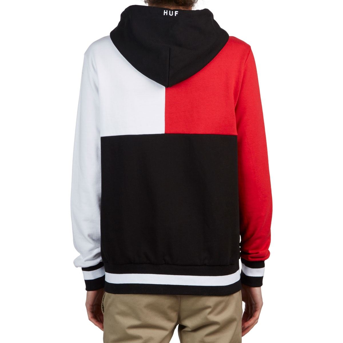 39cefc4ae59 Huf Velli Pullover Hoodie - Red White Black