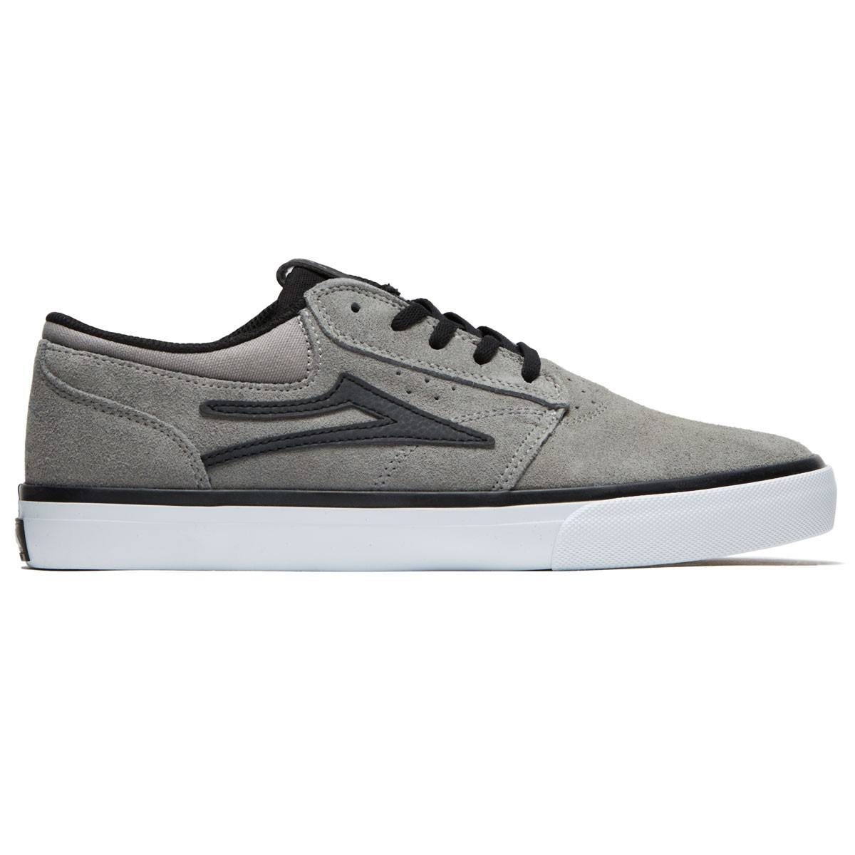 9ae6b914e2 Lakai X Hard Luck Griffin Shoes - Grey Black Suede - 10.0