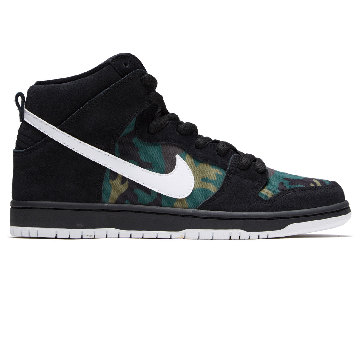 promo code 7848a 98825 Nike SB Dunk High Pro Shoes - Black White Iguana Baroque Brown -