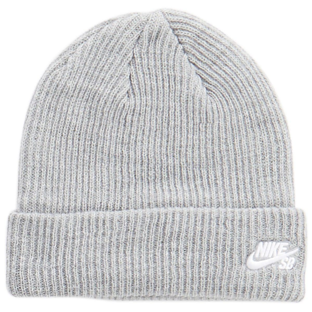 7581c8338d9 Nike SB Fisherman Beanie - Dark Grey Heather White