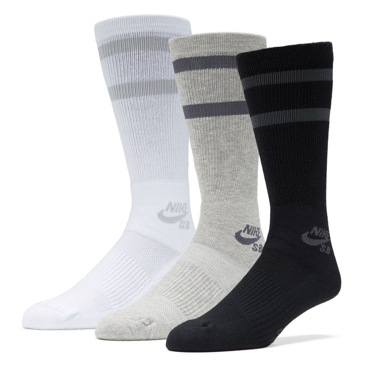 c48a81441f6e4e Nike SB 3 Pack Crew Socks - Multi Color