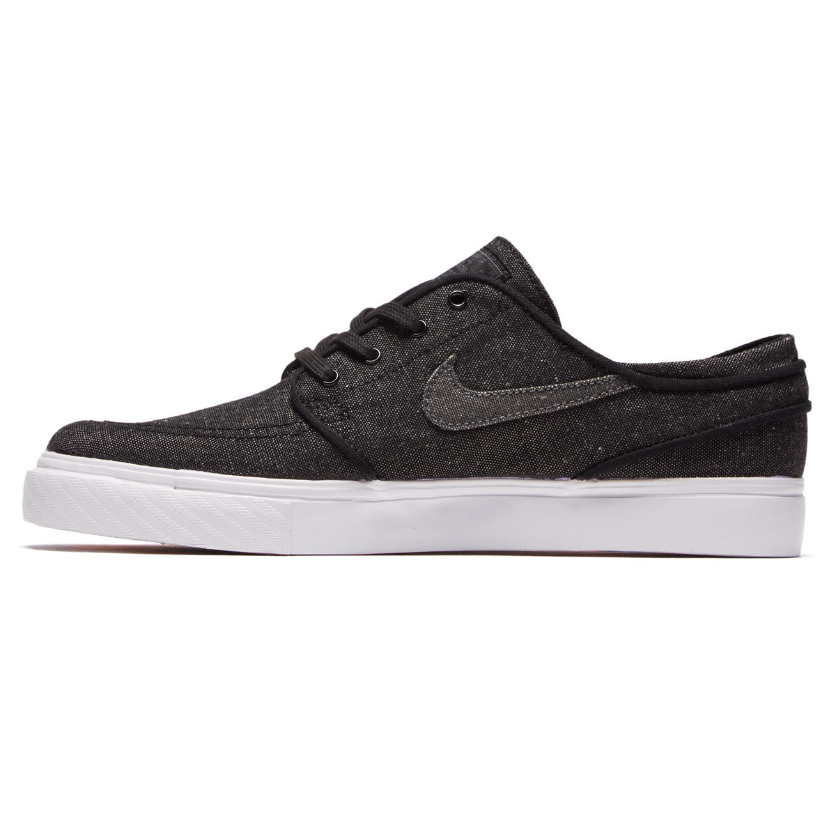 new york 53212 6d73a Nike SB Zoom Stefan Janoski Canvas Deconstructed Shoes - Black Anthracite  White Hyper Royal