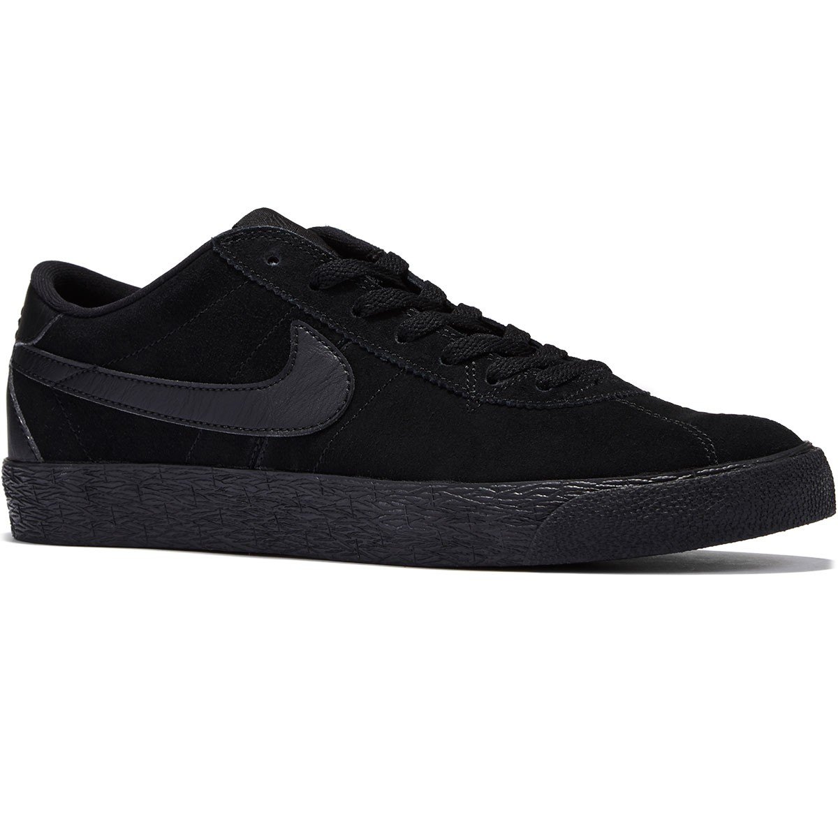 Nike Bruin SB Premium SE Shoes - Black/Black Anthracite/Black