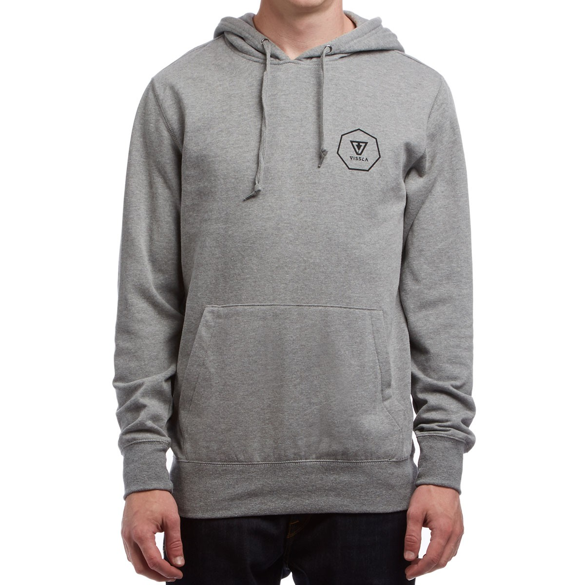 Vissla Forecast Pullover Hoodie - Grey Heather