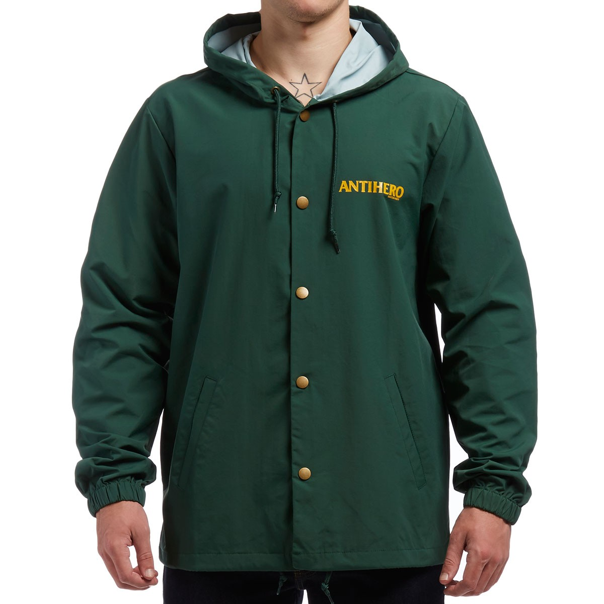 Hero Back Eagle Jacket - Forest Green