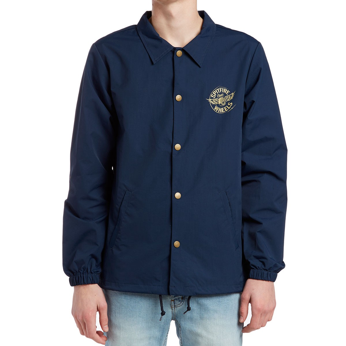 9d9037baf629 Spitfire Flying Classic Coaches Jacket - Navy