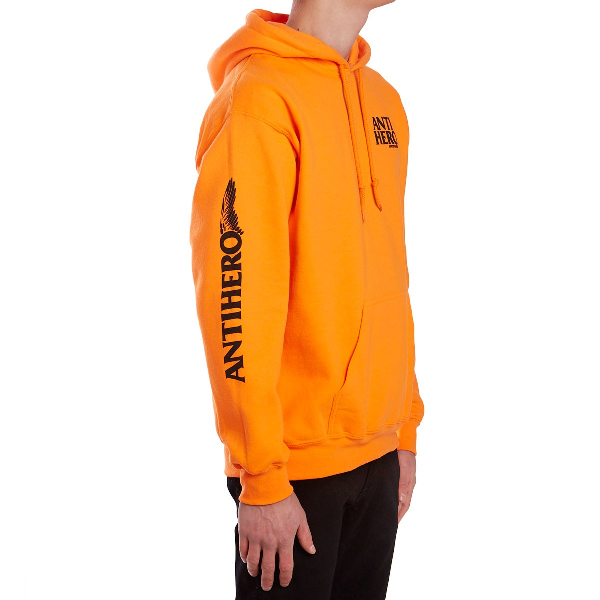 697fdb0bf8e2 Anti-Hero Winghero Hoodie - Safety Orange